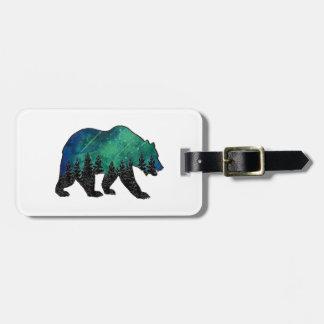 Etiqueta De Bagagem Domínio do urso