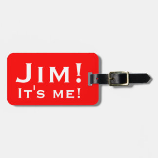 Etiqueta De Bagagem É mim! Tag personalizados da bagagem