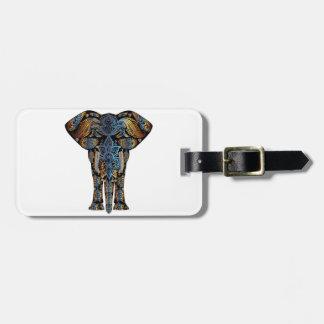 Etiqueta De Bagagem Elefante indiano
