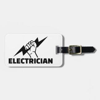 Etiqueta De Bagagem Eletricista