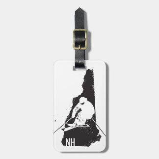 Etiqueta De Bagagem Esqui New Hampshire