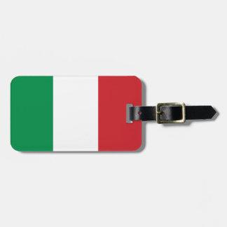 Etiqueta De Bagagem Estandarte italiano