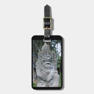 Etiqueta De Bagagem Estátua do deus do Balinese