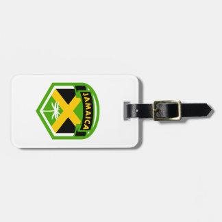 Etiqueta De Bagagem Estilo do protetor da bandeira de Jamaica