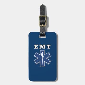 Etiqueta De Bagagem Estrela de EMT da vida