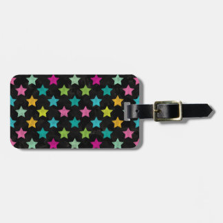 Etiqueta De Bagagem Estrelas coloridas III
