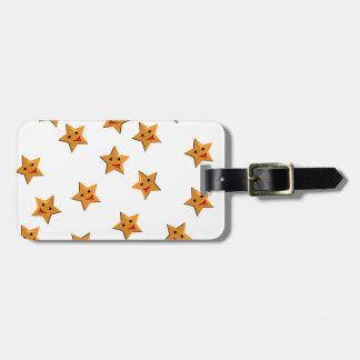 Etiqueta De Bagagem Estrelas felizes