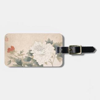 Etiqueta De Bagagem Estudo da flor - YUN Bing (chinês)