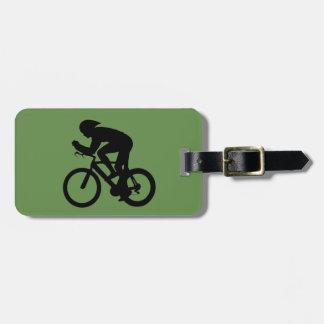 Etiqueta De Bagagem Etiqueta da bagagem do ciclista