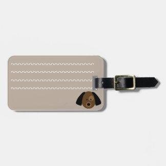 Etiqueta De Bagagem Etiqueta identificadora de bagagem cachorrinho