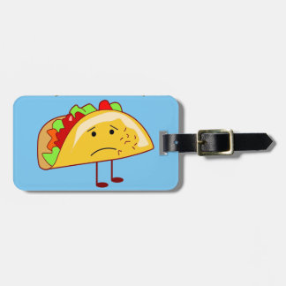 Etiqueta De Bagagem Eu não o quero ao ataque de Taco