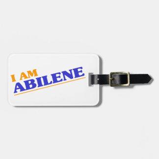 Etiqueta De Bagagem Eu sou Abilene