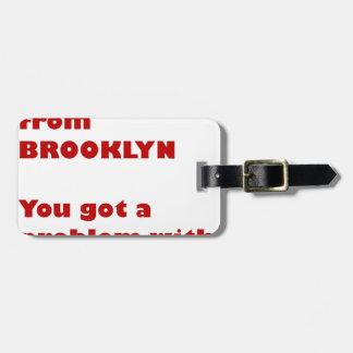 Etiqueta De Bagagem Eu sou de Brooklyn