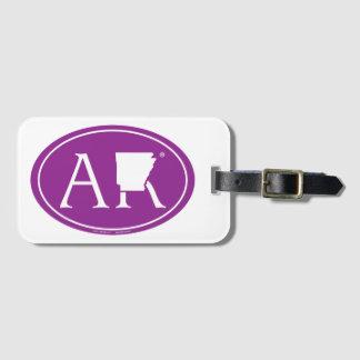 Etiqueta De Bagagem Euro do orgulho do estado: AR Arkansas