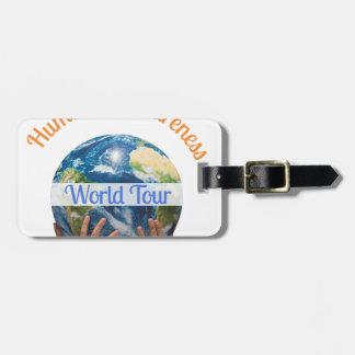 Etiqueta De Bagagem Excursão do mundo