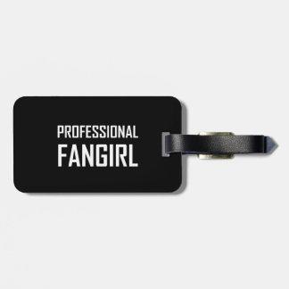 Etiqueta De Bagagem Fangirl profissional