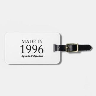 Etiqueta De Bagagem Feito em 1996
