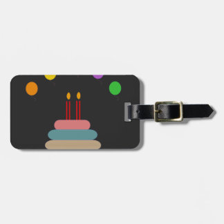 Etiqueta De Bagagem Feliz aniversario