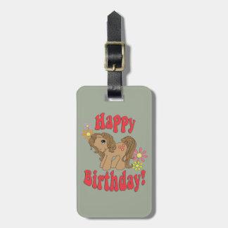 Etiqueta De Bagagem Feliz aniversario 4