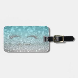 Etiqueta De Bagagem Feminino elegante moderno, Glittery, chicotes