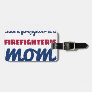 Etiqueta De Bagagem firefighter_mom