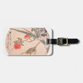 Etiqueta De Bagagem Flor e sapo - Zhang Xiong (chinês, 1803-1886)