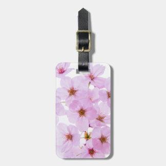 Etiqueta De Bagagem Flores da flor de cerejeira em Tokyo Japão