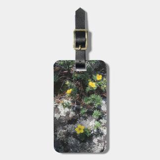 Etiqueta De Bagagem Flores da montanha