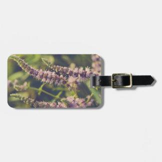 Etiqueta De Bagagem Flores de conexão em cascata