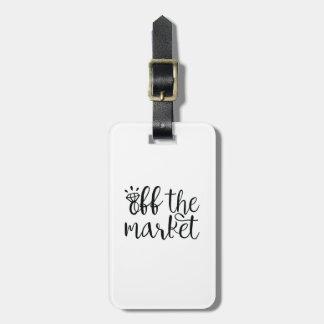 Etiqueta De Bagagem Fora do mercado