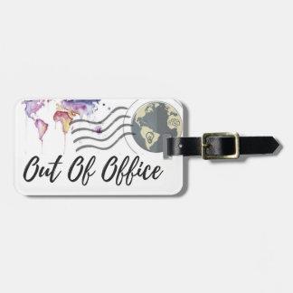 Etiqueta De Bagagem Fora do Tag da bagagem do escritório