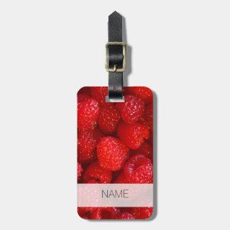 Etiqueta De Bagagem Fotografia cor-de-rosa escura bonito deliciosa da