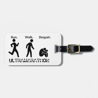 Etiqueta De Bagagem Funcione o desespero da caminhada