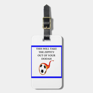 Etiqueta De Bagagem futebol
