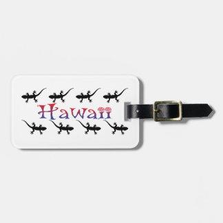 Etiqueta De Bagagem gecos do hawai