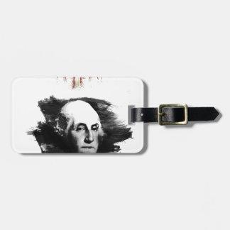 Etiqueta De Bagagem George Washington
