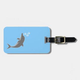 Etiqueta De Bagagem Golfinho