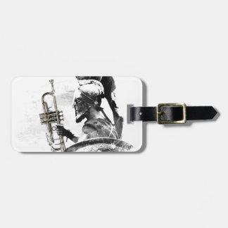 Etiqueta De Bagagem Guerreiro da trombeta