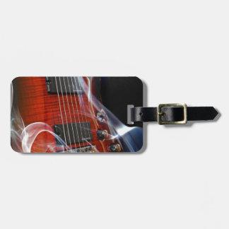 Etiqueta De Bagagem Guitarra da Sete-Corda das cordas da guitarra oito