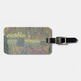 Etiqueta De Bagagem Gustavo Klimt - casa de campo pela arte de