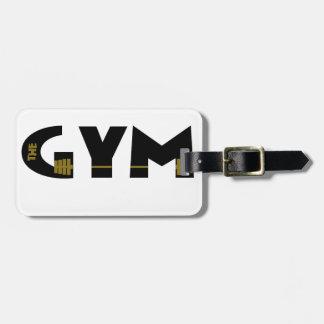 Etiqueta De Bagagem Gym e malhação