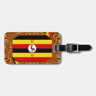 Etiqueta De Bagagem Hakuna surpreendente bonito Matata Uganda bonito