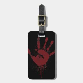 Etiqueta De Bagagem handprint