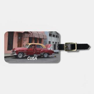 Etiqueta De Bagagem Havana Cuba
