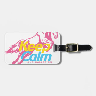 Etiqueta De Bagagem horse_