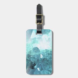 Etiqueta De Bagagem Hortelã de cristal