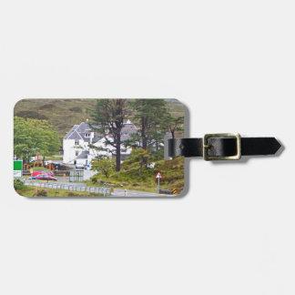 Etiqueta De Bagagem Hotel de Sligachan, ilha de Skye, Scotland