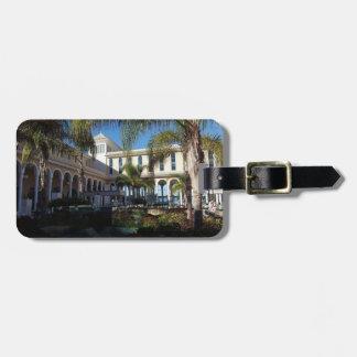Etiqueta De Bagagem Hotel de Tenerife e Tag da bagagem das palmeiras