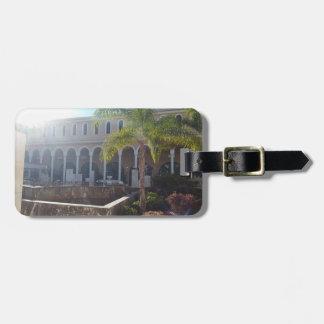 Etiqueta De Bagagem Hotel de Tenerife no Tag da bagagem da luz do sol