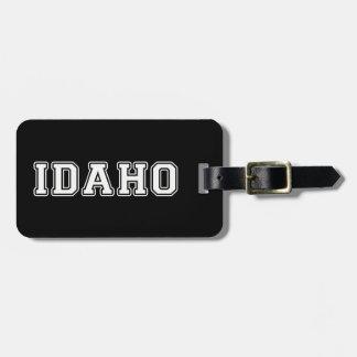 Etiqueta De Bagagem Idaho